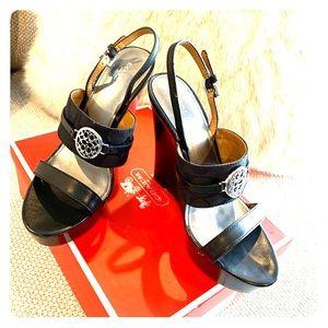 COACH Beatriz Wedge Sandals